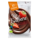 Landgarten Bio Erdbeere in Vollmilch-Schokolade 50g