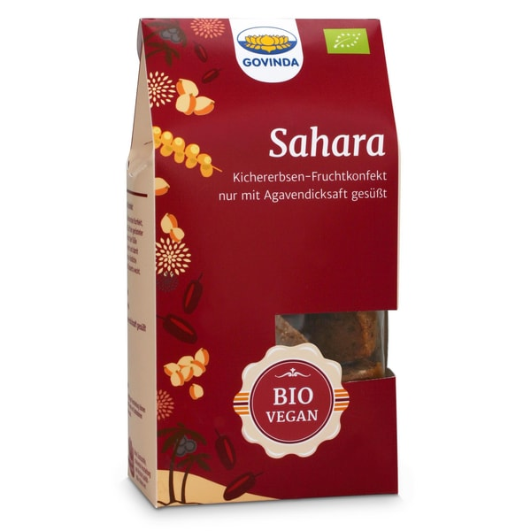 Govinda Bio Sahara Konfekt 100g