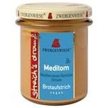 Zwergenwiese Bio Brotaufstrich Streichs drauf Meditom mediterranes Gemüse - Tomate 160g