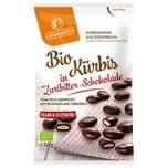 Landgarten Bio Kürbis in Zartbitter-Schokolade 50g