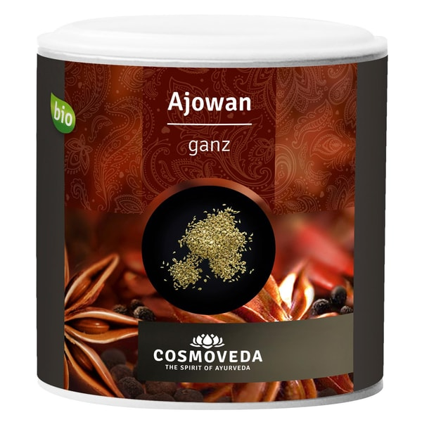 Cosmoveda Bio Ajowan / Ajwain (Königskümmel) ganz 90g