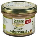 Ökoland Bio Pfälzer Leberwurst 160g