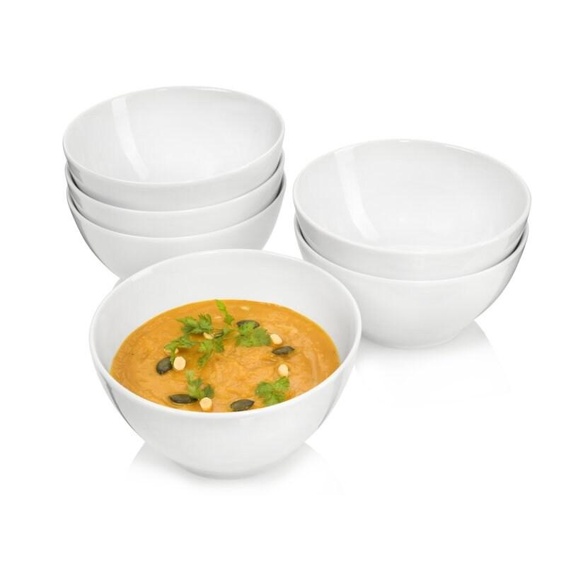 7-teiliges Bambusschalenset Salate Desserts Schalen  Müslischüsseln Salatschalen