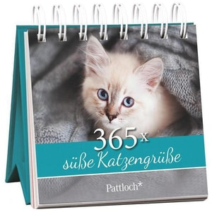 365 x süße Katzengrüße Pattloch