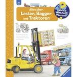 Alles über Laster, Bagger und Traktoren Erne, Andrea; Metzger, Wolfgang Ravensburger Verlag