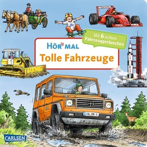 Hör mal: Tolle Fahrzeuge, m. Soundeffekten Zimmer, Christian Carlsen