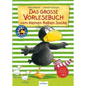 Der kleine Rabe Socke: Das große Vorlesebuch vom kleinen Raben Socke Moost, Nele Esslinger in der Thienemann-Esslinger Verlag GmbH
