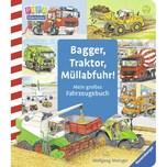 Bagger, Traktor, Müllabfuhr! Metzger, Wolfgang; Prusse, Daniela Ravensburger Verlag