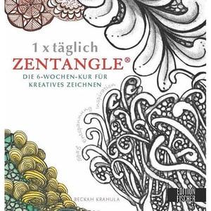 1 x täglich Zentangle Krahula, Beckah EMF Edition Michael Fischer