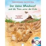 Der kleine Maulwurf und die Tiere unter der Erde, m. Audio-CD Reichenstetter, Friederun; Döring, Hans-Günther Arena