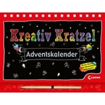 Kreativ-Kratzel-Adventskalender Loewe Verlag