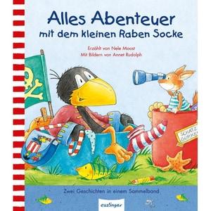 Alles Abenteuer mit dem kleinen Raben Socke Moost, Nele; Rudolph, Annet Esslinger in der Thienemann-Esslinger Verlag GmbH