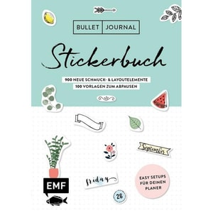 Bullet Journal - Stickerbuch. Bd.2 EMF Edition Michael Fischer