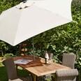 Butlers Siesta Sonnenschirm mit Kurbel Ø 1,8 m