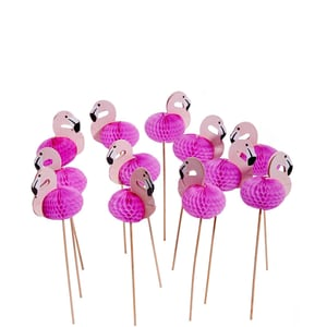 Butlers Flamingo Cocktail Dekoration rosa
