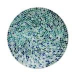 Butlers Sassolino Deko Mosaik Teller 38 cm hellblau