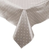 Butlers WATERPROOF Wachstischdecke Sterne 110x110 cm grau