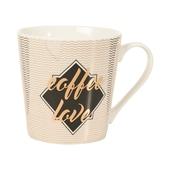 Butlers Coffee Deluxe Tasse Coffee Love 350 ml weiß