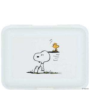 Butlers Peanuts Brotdose Snoopy & Woodstock weiss