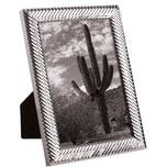 Butlers Memories Metall Bilderrahmen glänzend 13x18 cm silber