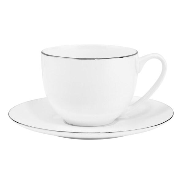Butlers Silver Lining 6x Kaffeetasse mit Untertasse 240ml
