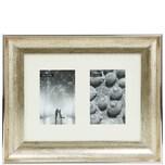 Butlers Memories Bilderrahmen 2er 10x15 cm silber