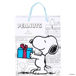 Butlers Peanuts Geschenktasche Snoopy weiss