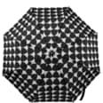 Butlers Rain Or Shine faltbarer Regenschirm Drei schwarz-weiss