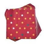 Butlers Après Papierserviette Sterne rot