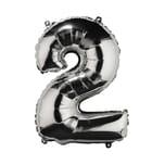 """Butlers Upper Class Folienballon """"2"""""""