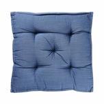 Butlers Solid Sitzauflage 40x40 cm blau