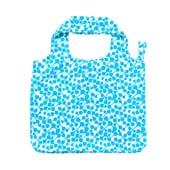 Butlers CARRY ME Tasche Geometrics 2 blau