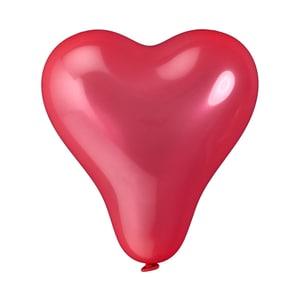 Butlers Upper Class Ballon-Set Herzen rot