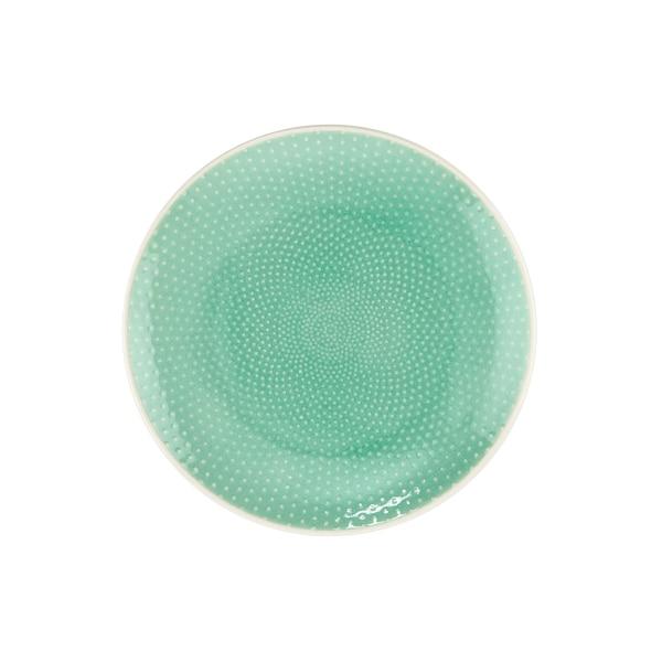 Butlers Hanami Dessertteller Punkte Ø20cm mint