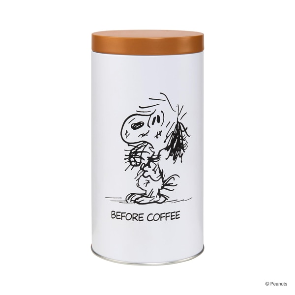 Butlers Peanuts Kaffeedose Before/After Coffee