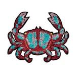 Butlers Patch Krabbe selbstklebend bunt