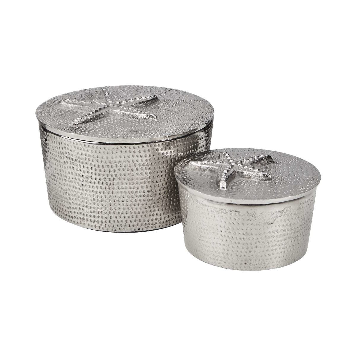 Butlers Silver Nature Dose Motiv Seestern Ø 12,5 cm silber