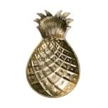 Butlers Golden Nature Deko Schale Ananas 30 cm gold