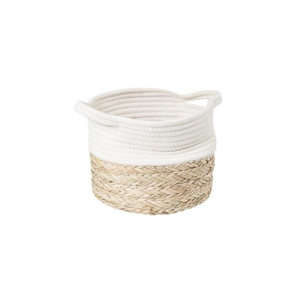 Butlers Cotton Braid Korb Größe XS Natur-Weiß