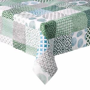 Butlers Waterproof Tischdecke Patchwork 110x110 cm gruen
