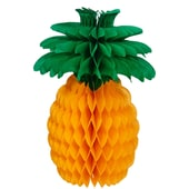 Butlers ALOHA Papierdekoration Ananas gelb-gruen