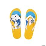 Butlers Peanuts Zehentrenner Snoopy Côte D´Azur 37/38 gelb