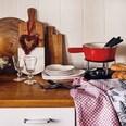 Butlers Marble Kitchen Schneidebrett natur-weiss