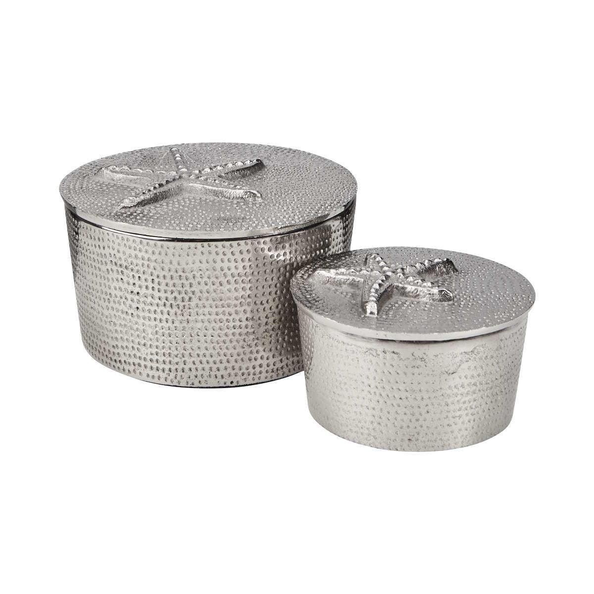 Butlers Silver Nature Dose Motiv Seestern Ø 9,5 cm silber