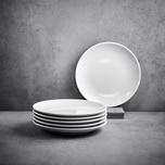 """Butlers Puro 6 x Frühstücksteller """"classic"""" Ø 21 cm"""