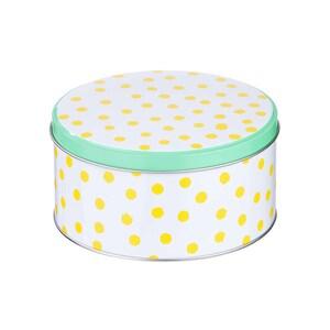 Butlers Cookie Jar Dose gepunktet Ø 13,5 cm gelb