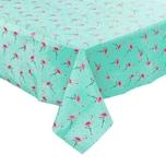 Butlers Waterproof Tischdecke Flamingo 140x200 cm mint