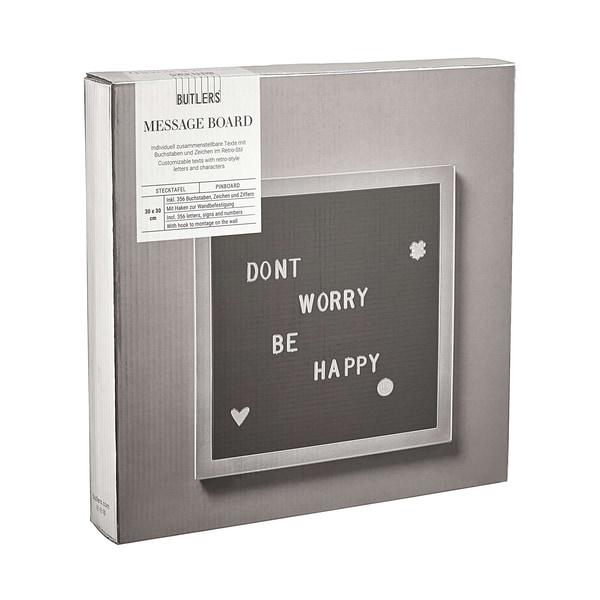 Butlers Message Board Stecktafel 30x30cm