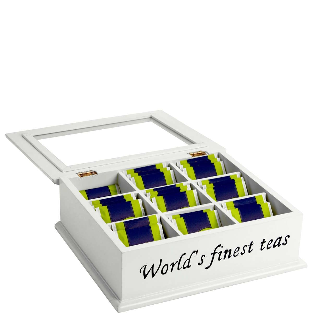 Butlers Campagne Teedose ''The World's finest tea'' weiss