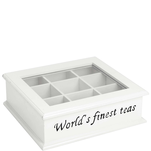 Butlers Campagne Teedose 'The World's finest tea weiß